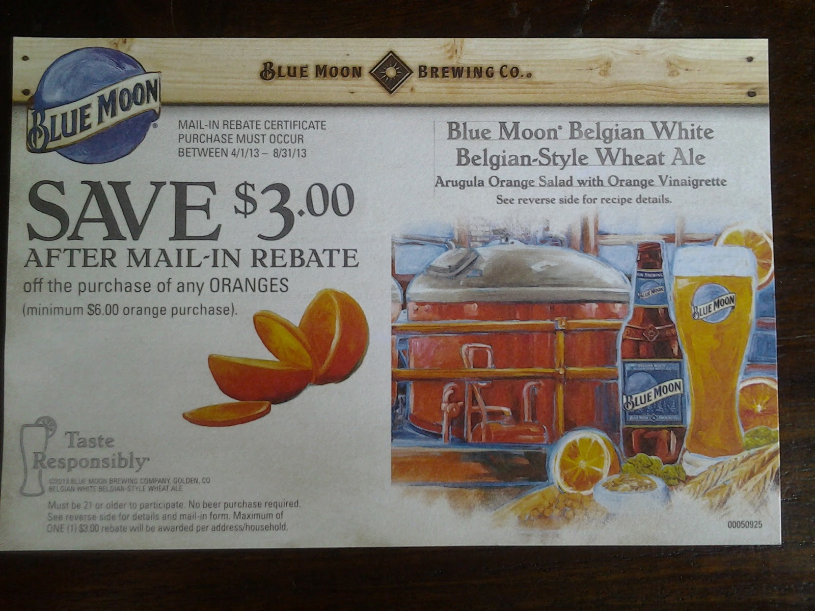 Blue Moon NBPR Mail in Rebate Giveaway! | Loudoun County Limbo