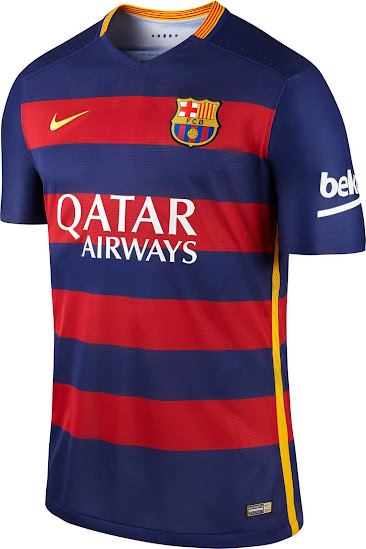 Revolutionary FC Barcelona 15-16 Kits Released - Footy Headlines 29fc46e544e9e