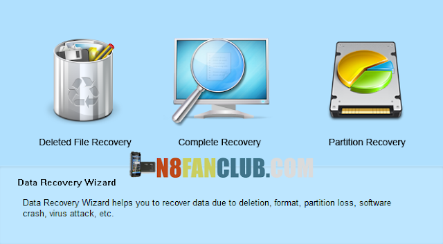 How to recover lost data from Nokia N8 or any other