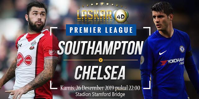 Prediksi Pertandingan Chelsea vs Southampton 26 Desember 2019