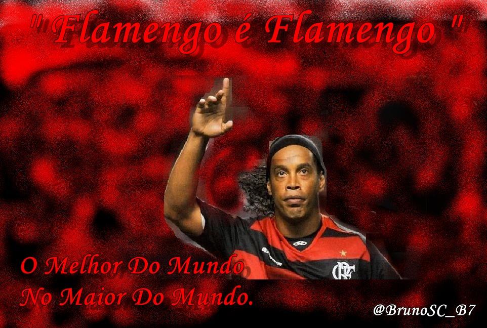 B7: Wallpaper Ronaldinho No Flamengo