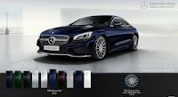 Mercedes S500 4MATIC Coupe 2017 màu Xanh Cavansite 890