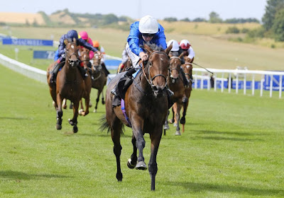 Dubai Beauty winning on debut at Newmarket