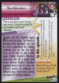 MLP Heartbreakers Series 4 Trading Card