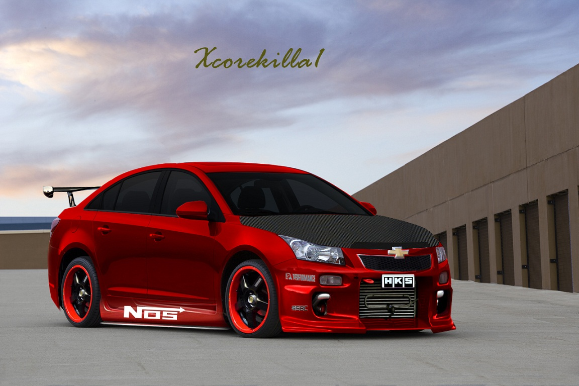 2011 chevrolet cruze photoshop tuning virtual tuning. Black Bedroom Furniture Sets. Home Design Ideas