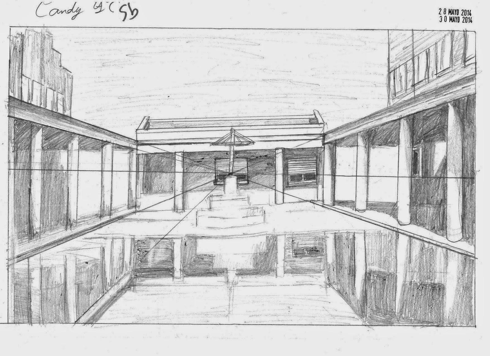 Dibujos De Clase Perspectiva Conica Central Candi Presa