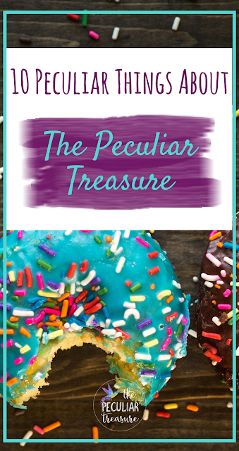 A Free, Fun, Birthday Playlist + 10 Peculiar Things About The Peculiar Treasure
