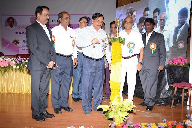 V.Satyanarayana, ITPI,   K.Anand Babu, Chairman, ITPI-TRC,  T. Chiranjeevulu, IAS, Commissioner, HMDA.  Dr.D.S. Mesharam, President, ITPI