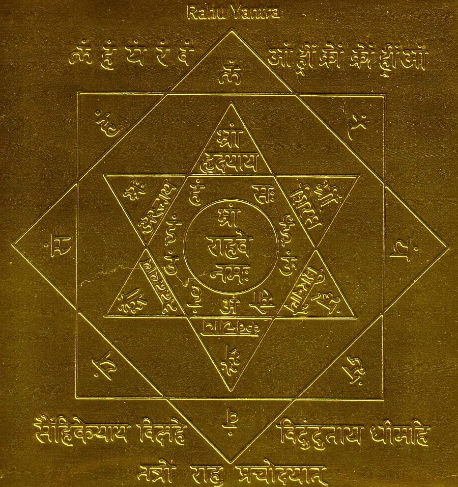 OM TAT SAT: Rahu Ashtottara Sata Namavali