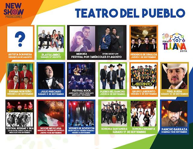 teatro del pueblo feria tijuana 2016