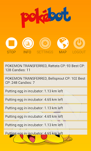 PokeBot v1.0.18 APK for Android | 20 September 2016