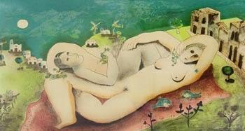 Mulheres - Cícero Dias e suas principais pinturas ~ Pintor pernambucano