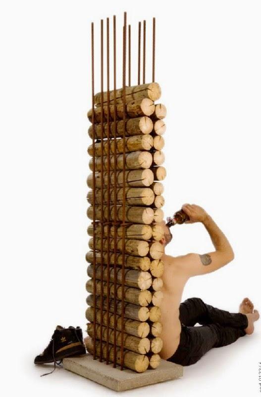Ideas para almacenar la madera: Leñeros. - c@sas de película