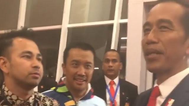Begini Verbal Raffi Ahmad Ketika Mengetahui Iriana Idolakan Raffi Ahmad Ketika Dibongkar Jokowi