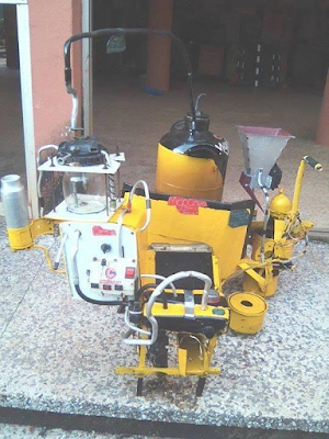 Photos: A Biafran creates Water-Powered Generator and a machine that turns non-biogradable waste into fuel, kerosene,and diesel Eem