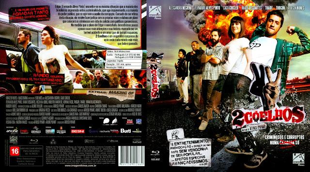 Capa Blu-ray 2 Coelhos