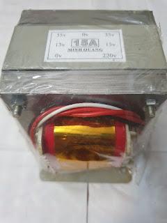 Biến Áp Nguồn 15A đối xứng 35V amply