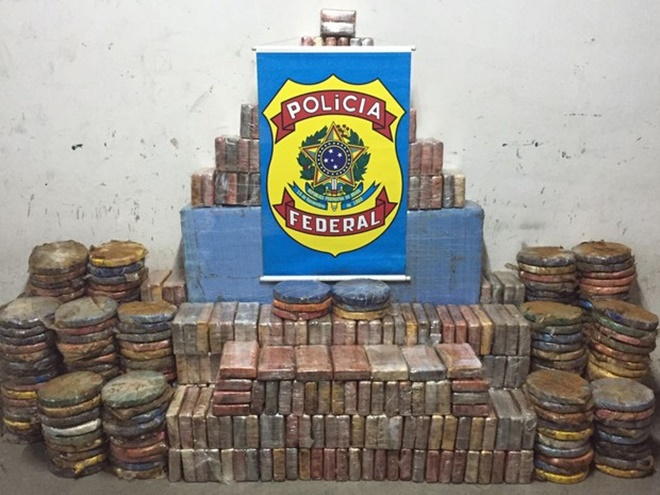 PF anuncia maior apreensão de cocaína já realizada na Bahia