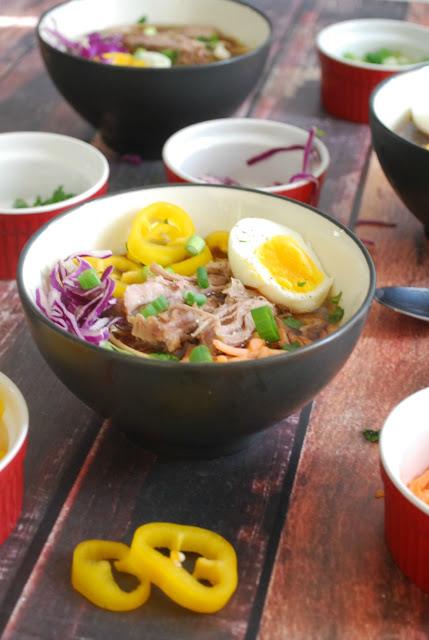 Easy Pork Ramen Soup