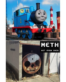 thomas the tank engine methamphetamine funny