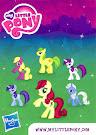 My Little Pony Wave 6 Roseluck Blind Bag Card