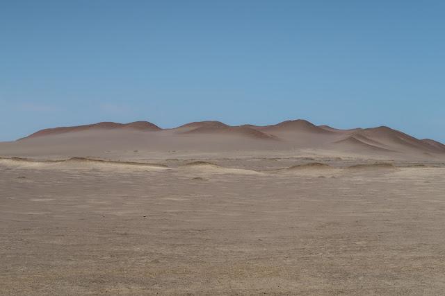 Desierto de la reserva nacional de Paracas