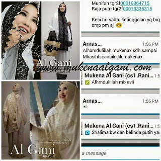 11219372_1455696848056206_5506412445100037080_n Dokter barbie Tika cantik wearing Mukena Najwa super duper Best Seller 😍