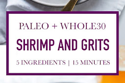 "Healthy Shrimp and ""Grits"" (Whole30, Keto, Paleo)"