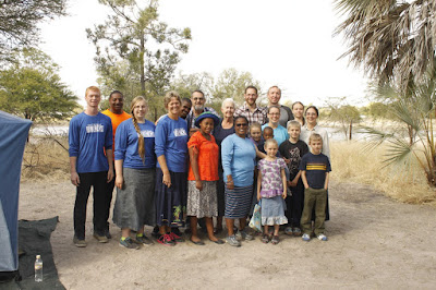 Bible Distribution Trip to Namibia #3