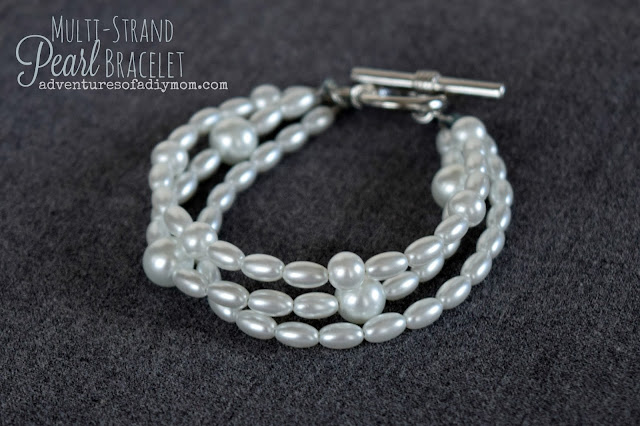 How to Make a Pearl Multi-strands Bracelet