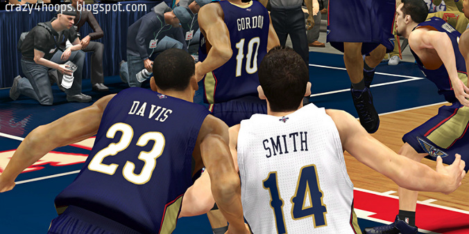 NBA 2k13 New Orleans Pelicans Official Jersey Patch Download