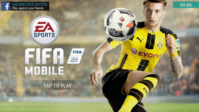 Download FIFA Mobile Soccer 2017( FIFA 17 ) apk and data