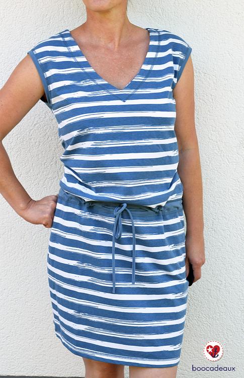 boocadeaux - Strandkleid von Ki-ba-doo aus Painted Stripes