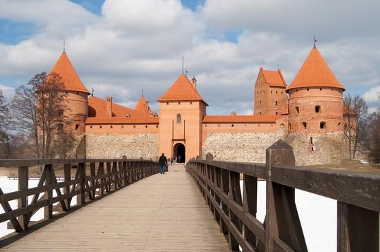 Castillo de Trakai - cerca de Vilnius - Lituania