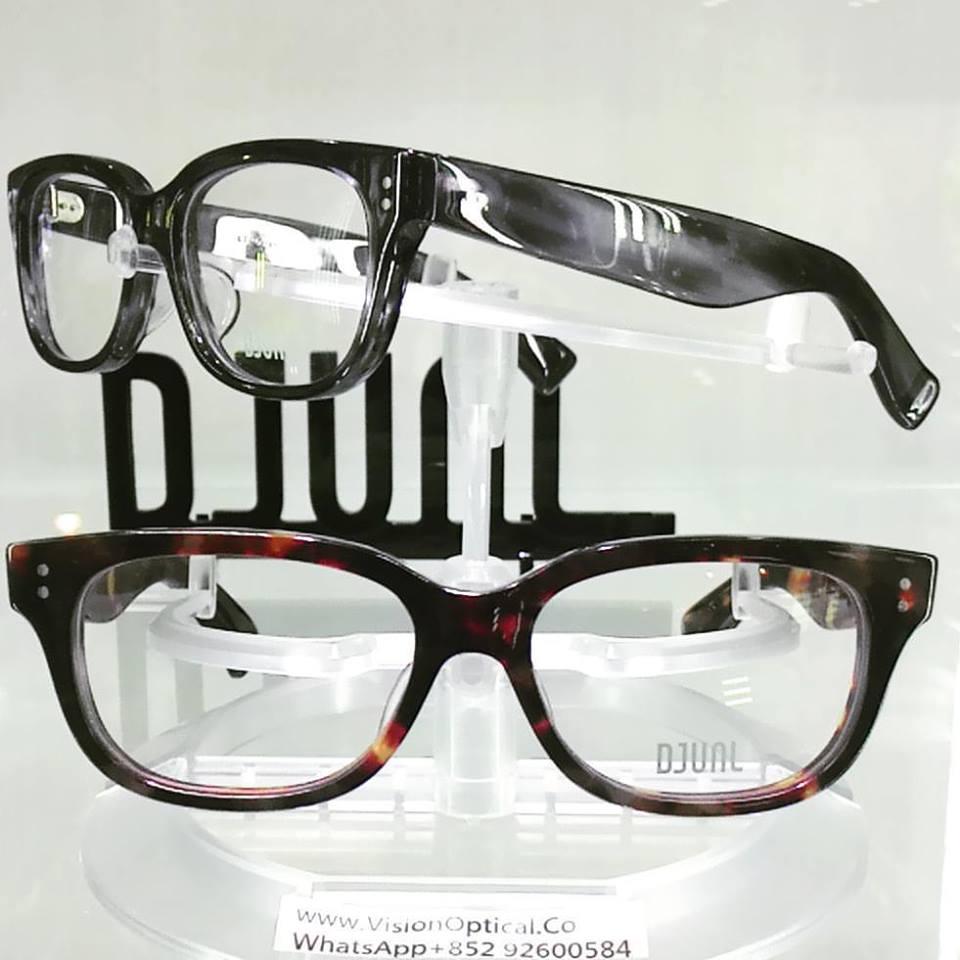 精明眼鏡公司: DJUAL日本手造眼鏡的晶瑩通透