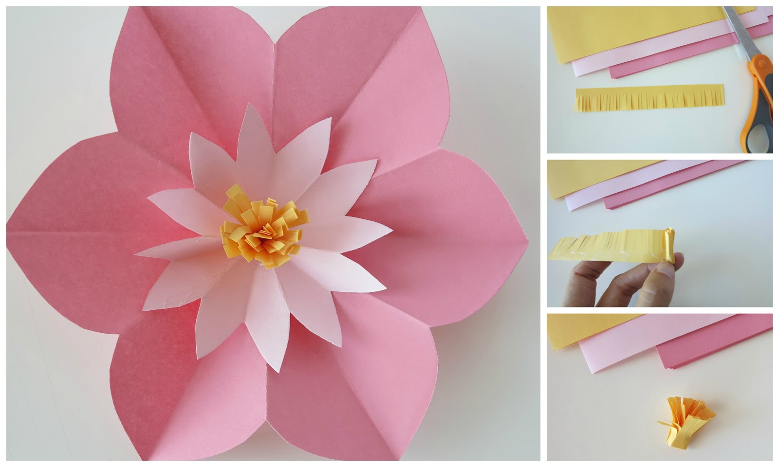 Make A Flower From Paper Choice Image Fresh Lotus Flowers