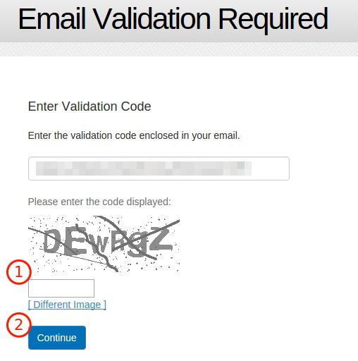 Bravenet Guestbook을 이용하여 Blogger 방명록 추가 방법 8. 자동가입 방지 문자를 입력 후 확인