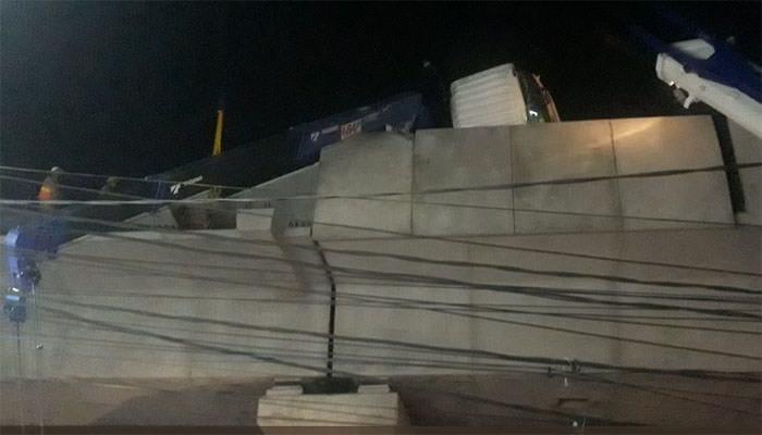 Dinding Pembatas Beton MRT Jatuh, Ini Penyebabnya