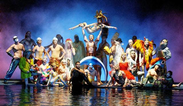 O Cirque Du Soleil Show in Las Vegas