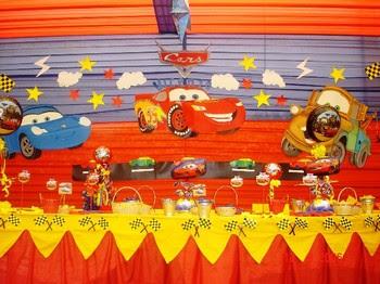 decoracin de fiestas infantiles de cars