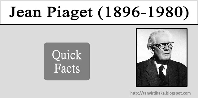 Jean Piaget Quick Facts