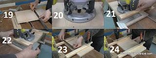 Cómo hacer las guías para fresar un rebajo en el centro del tablero. http://www.enredandonogaraxe.com