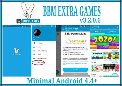 BBM MOD EXTRA GAMES APK