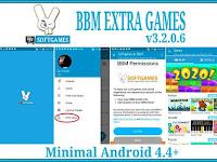 BBM EXTRA GAMES Mod Apk Based v3.2.0.6 Terbaru