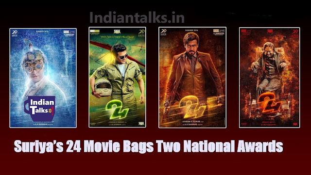 Suriya 24 Movie Bags Two National Awards