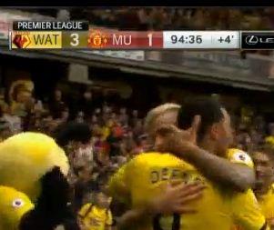 Manchester United Kalah 1-3 dari Watford