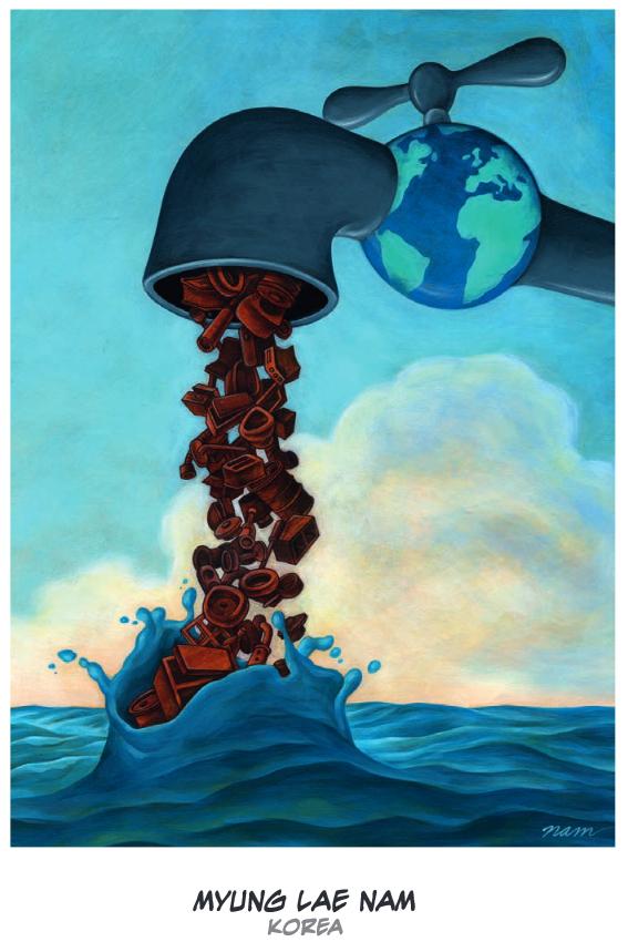 Blue Sky GIS: Maps in comics: Niels Bugge Cartoon Award