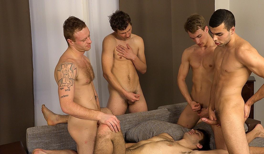 Homens nus arte