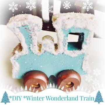 DIY Wooden Train & Reindeer Hands