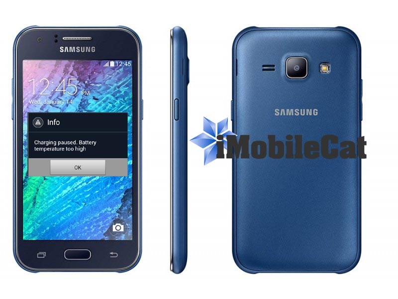 Samsung J1 Charging Paused Battery Temperature Too High Tested